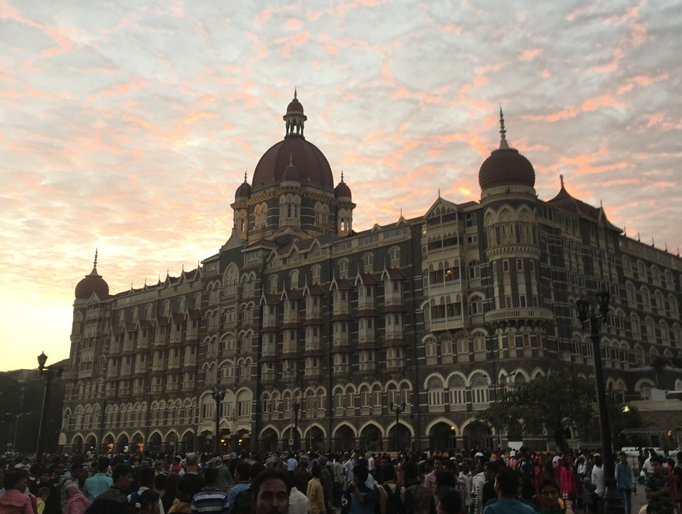 One of the world's most famous hotels Mumbai  India