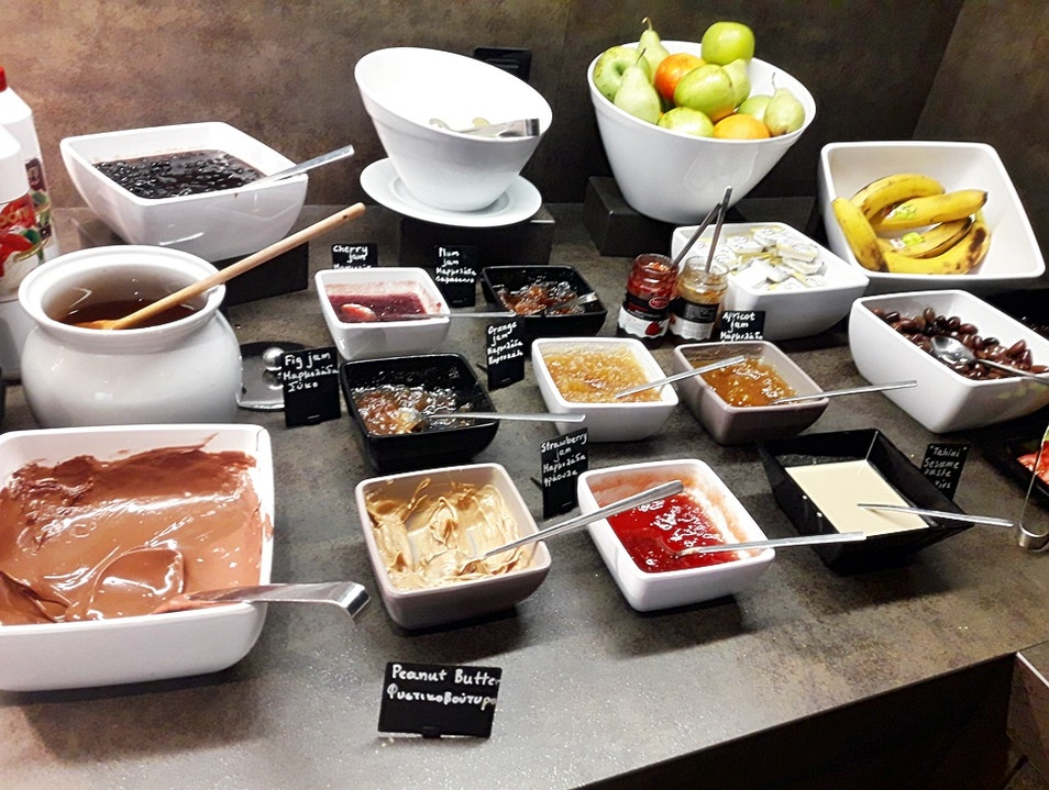Breakfast at the Hotel ibis Styles! Iraklio  Greece
