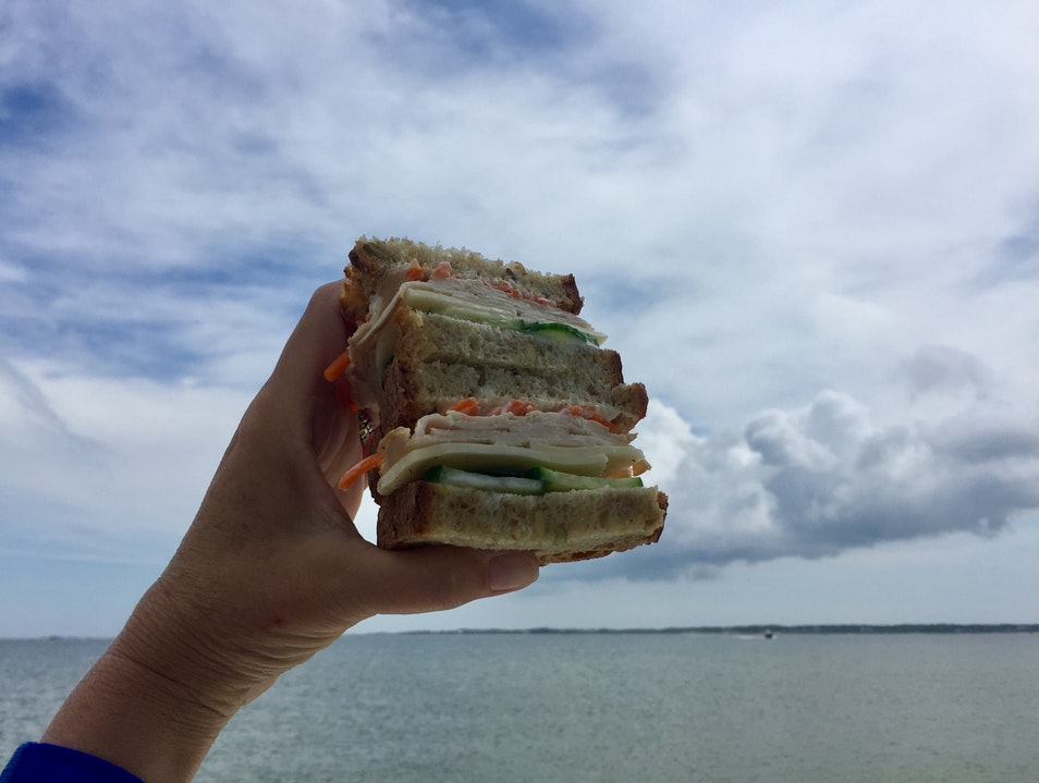 'Sconset Sandwich with a View