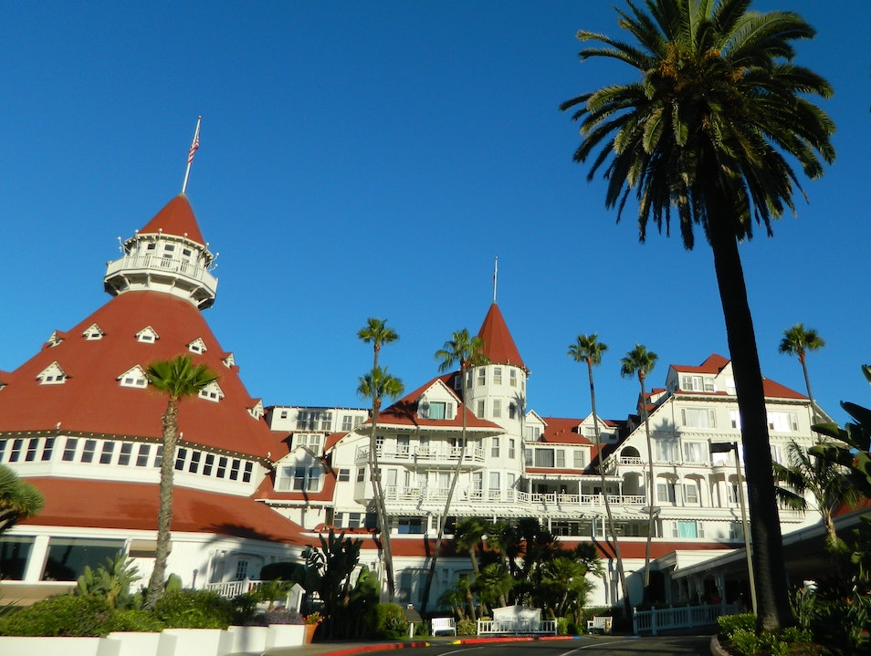 Historic hotel on Coronado Island Coronado California United States