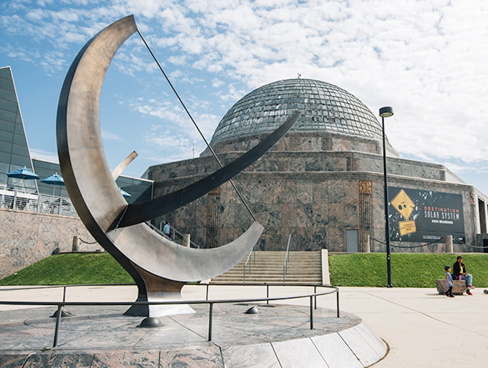 Adler Planetarium Chicago Illinois United States