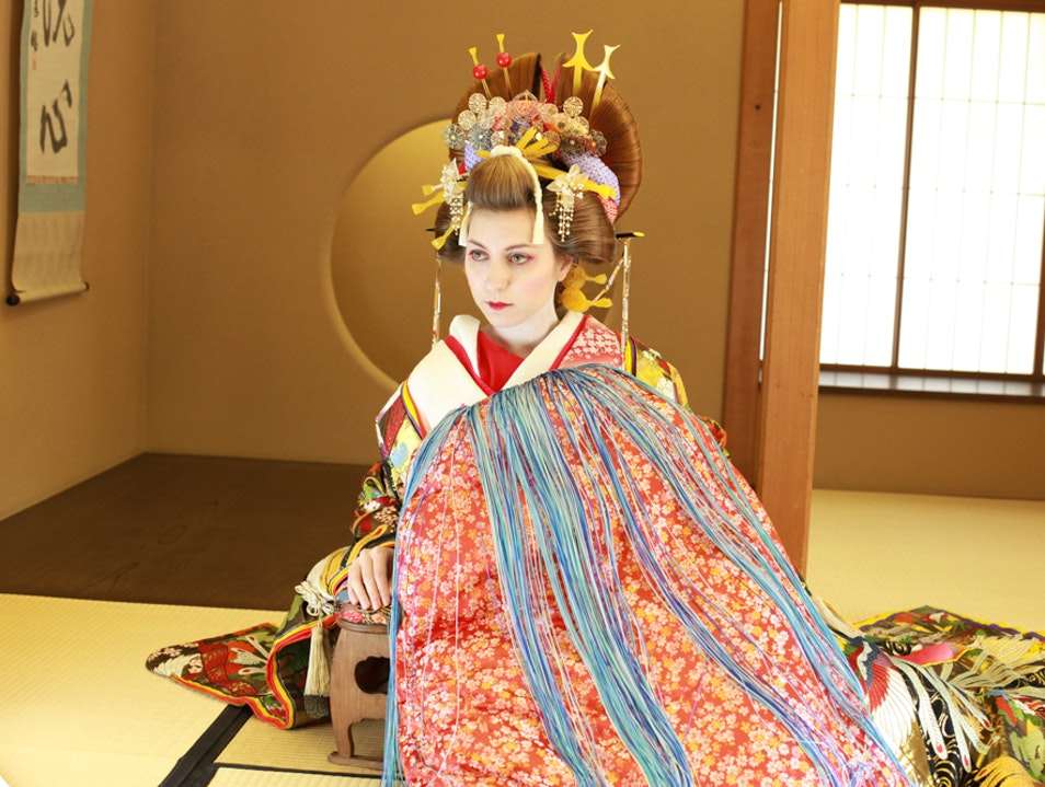 Japanese Culture: The Oiran Makeover Experience Tokyo  Japan