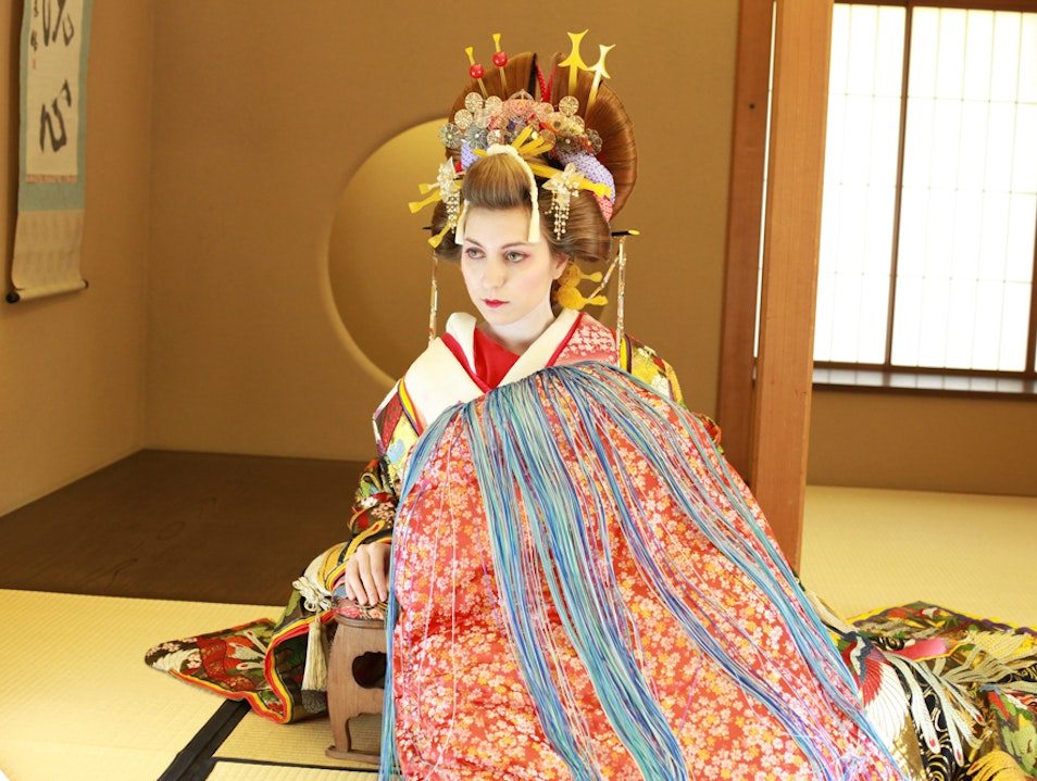 Japanese Culture: The Oiran Makeover Experience