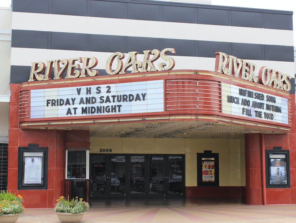 Catch a Flick at River Oaks' Historic Theater Houston Texas United States