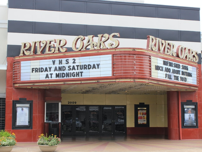Catch a Flick at River Oaks' Historic Theater