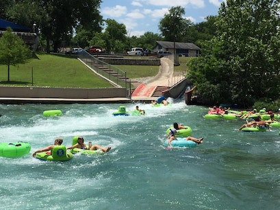 Comal Tubes New Braunfels Texas United States
