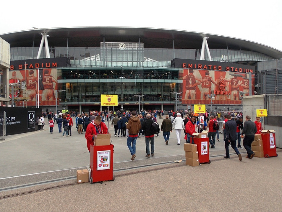 Welcome to the Emirates! London  United Kingdom