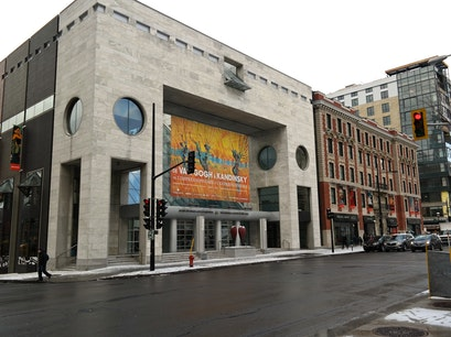 The Montréal Museum of Fine Arts Montreal  Canada