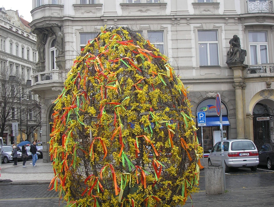 Easter Egg Prague  Czech Republic
