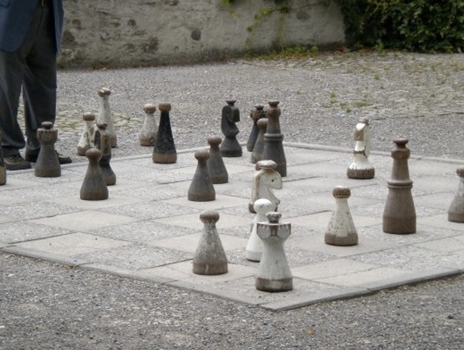 Prime Views and a Game of Outdoor Chess Zurich  Switzerland
