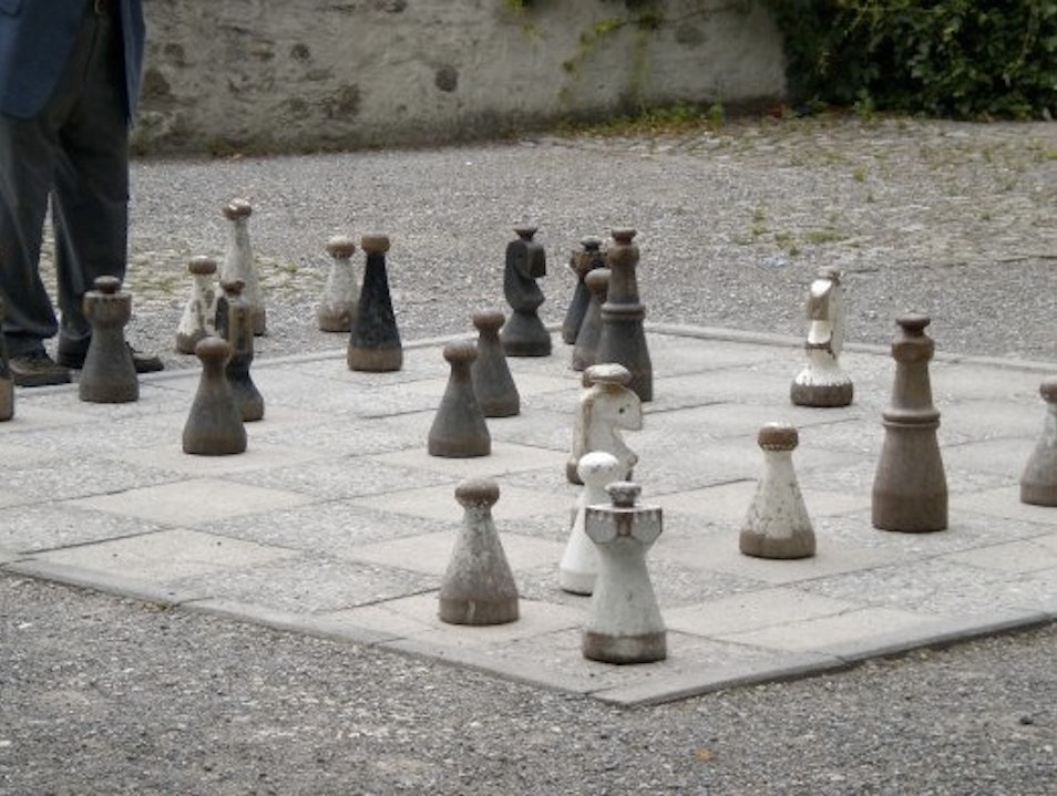 Prime Views and a Game of Outdoor Chess