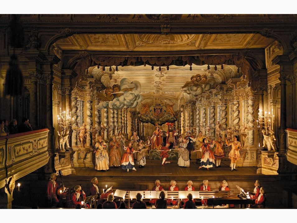 4. The Baroque Theater of Cesky Krumlov