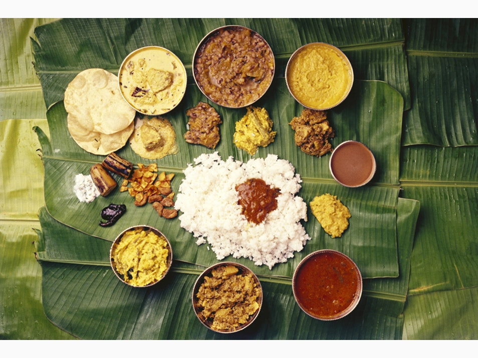 Banquet on a Banana Leaf