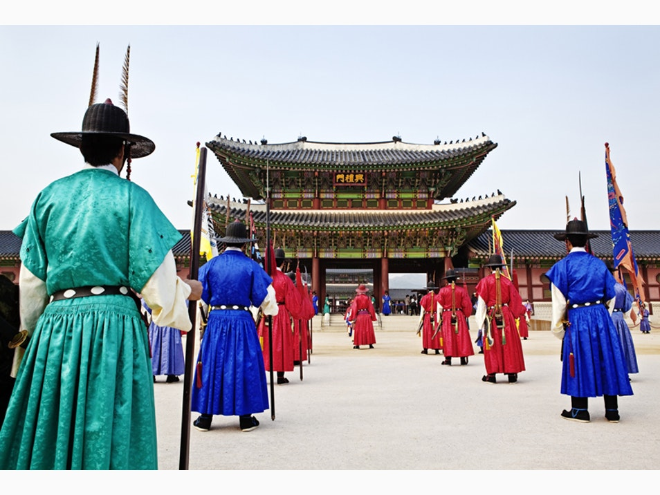 The Grand Palaces of Seoul
