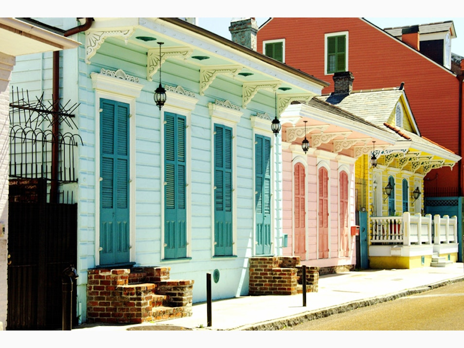 Creole Cottages and Greek Revivals