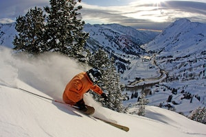 Skiing and Snow Play in Salt Lake City