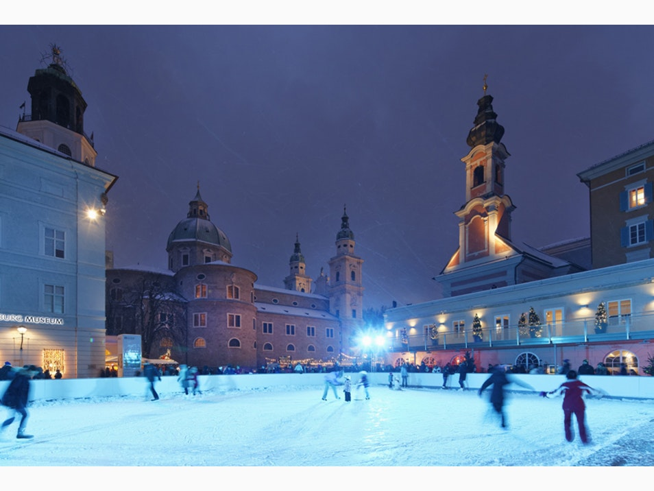 Picturesque Ice-Skating Rinks