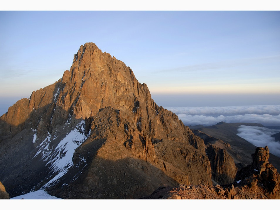 The View from Mount Kenya