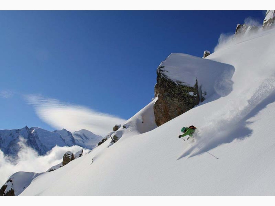 Off-Piste Skiing at Its Very Best