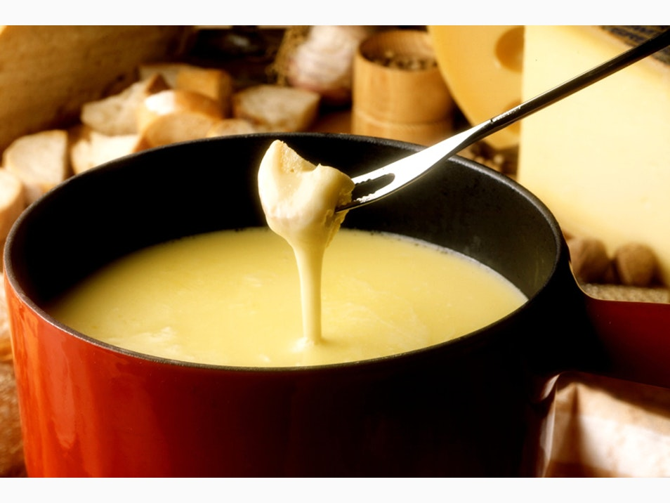 Dip Into the World of Cheese Fondue