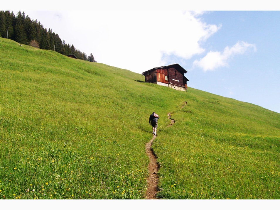 Hiking in the Great Swiss Outdoors
