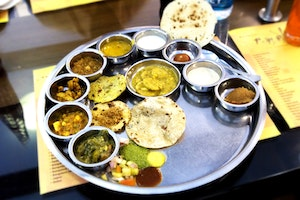 Dining in India's Golden Triangle