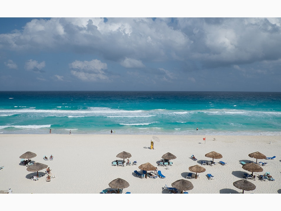 Four Great Beaches in Cancún
