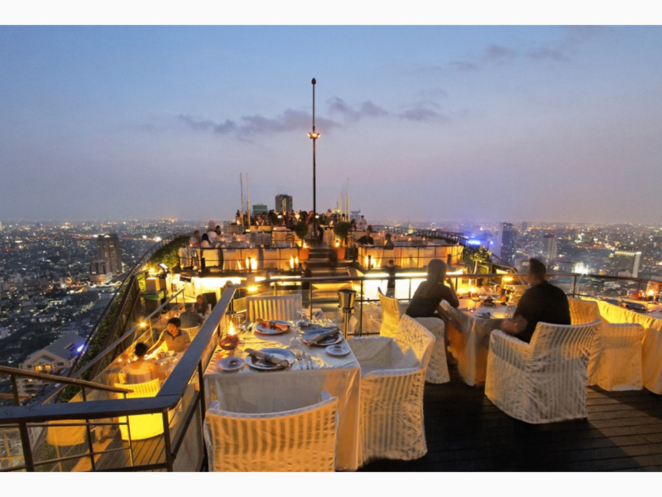 Drinks with a View at Bangkok's Sky Bars