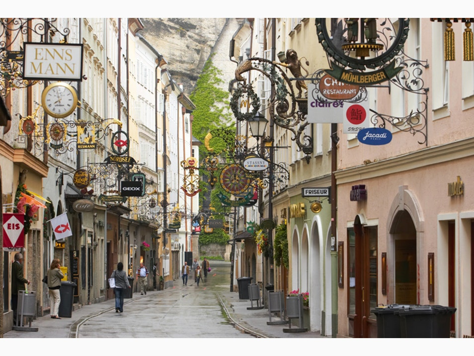 The Old-World Splendor of Getreidegasse