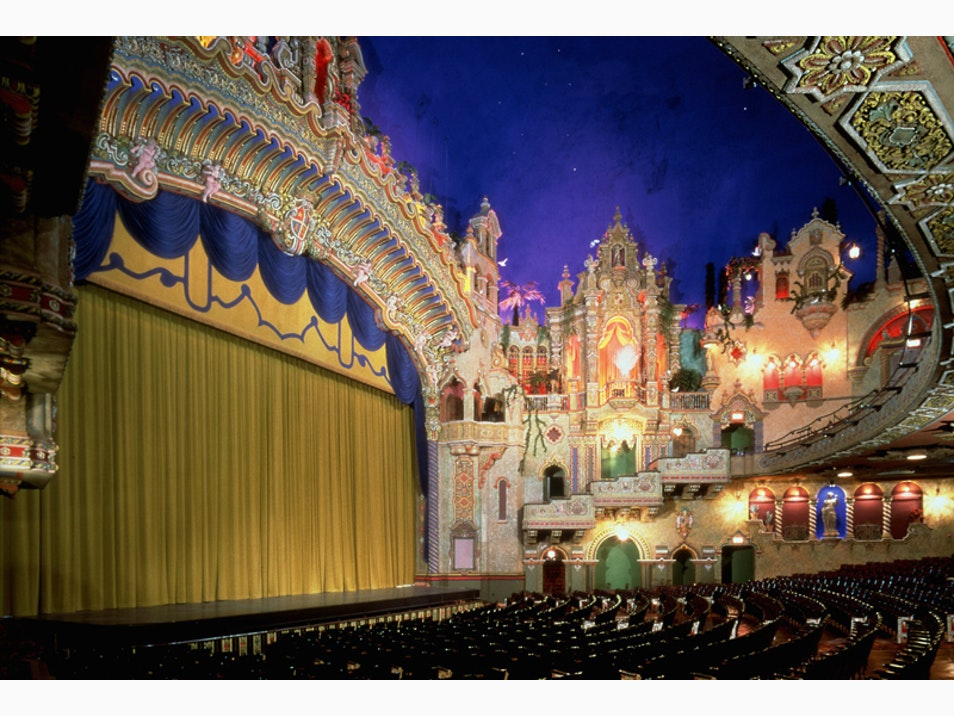 Beautifully Restored Theaters