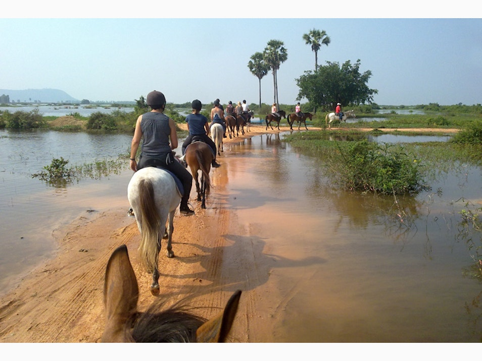 See Siem Reap from Horseback