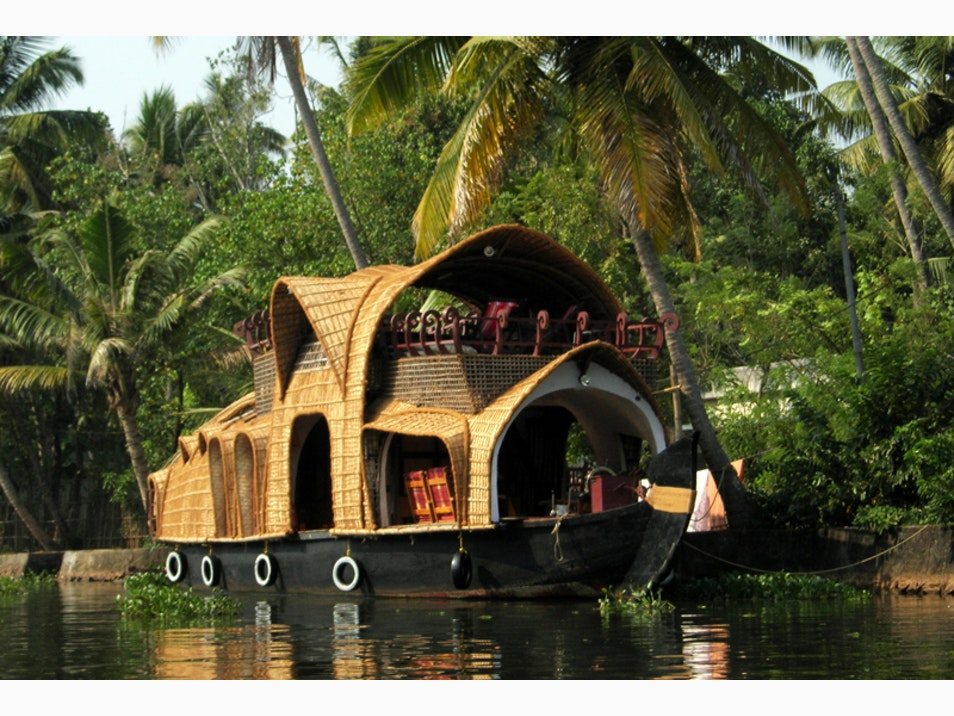 Explore the Backwaters by Houseboat