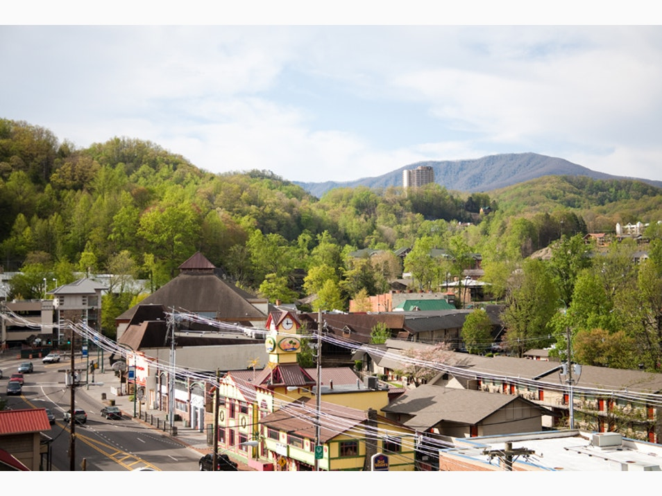 The Mountain Town of Gatlinburg