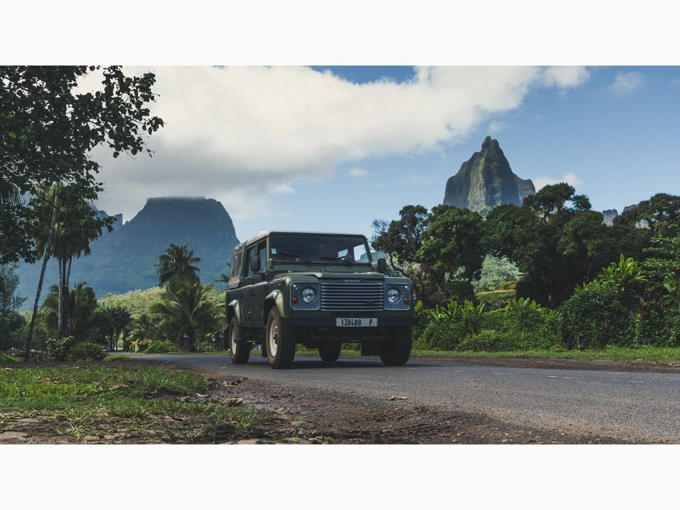 Back Roads of Moorea