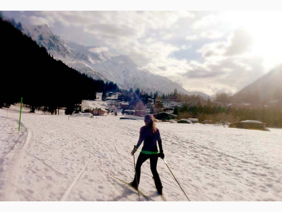 Chamonix Cross-Country Skiing
