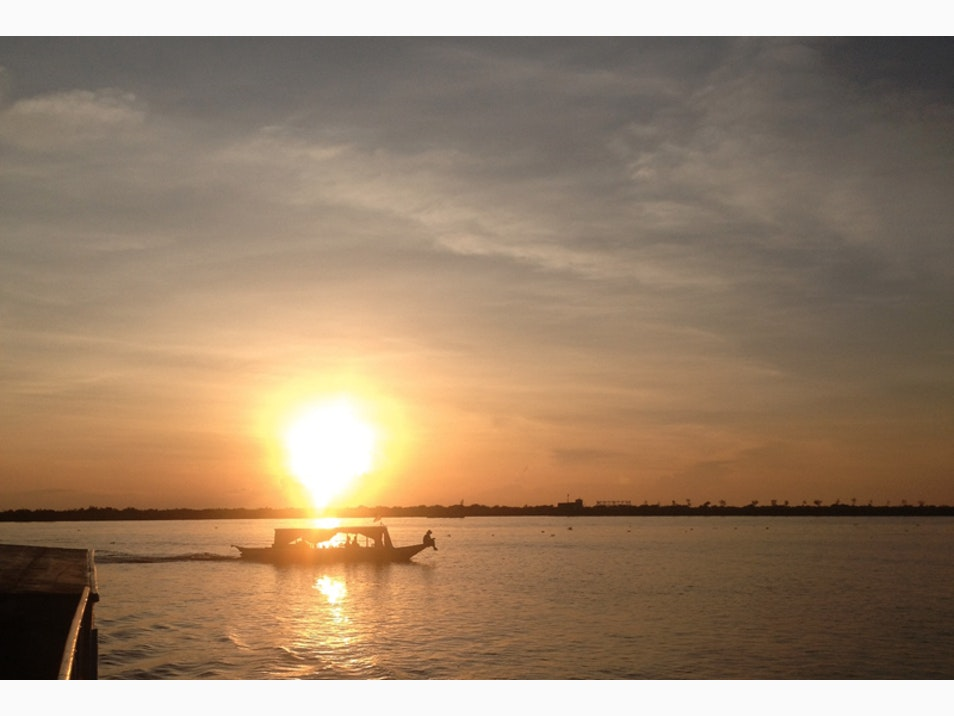 Sip Champagne on Tonle Sap