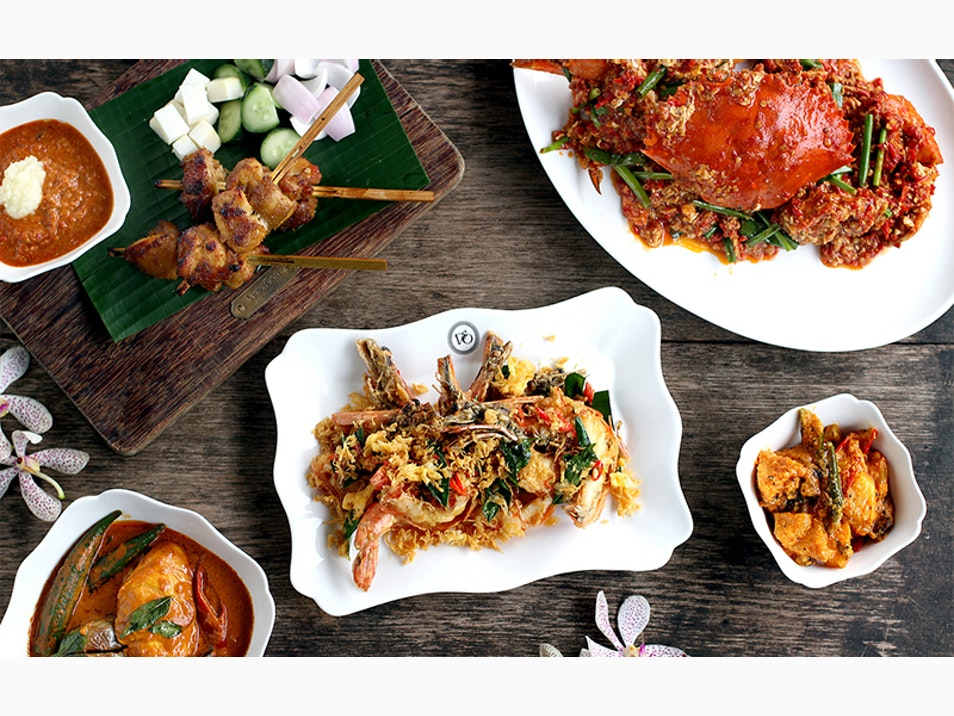 Try the Peranakans' Fusion Cuisine