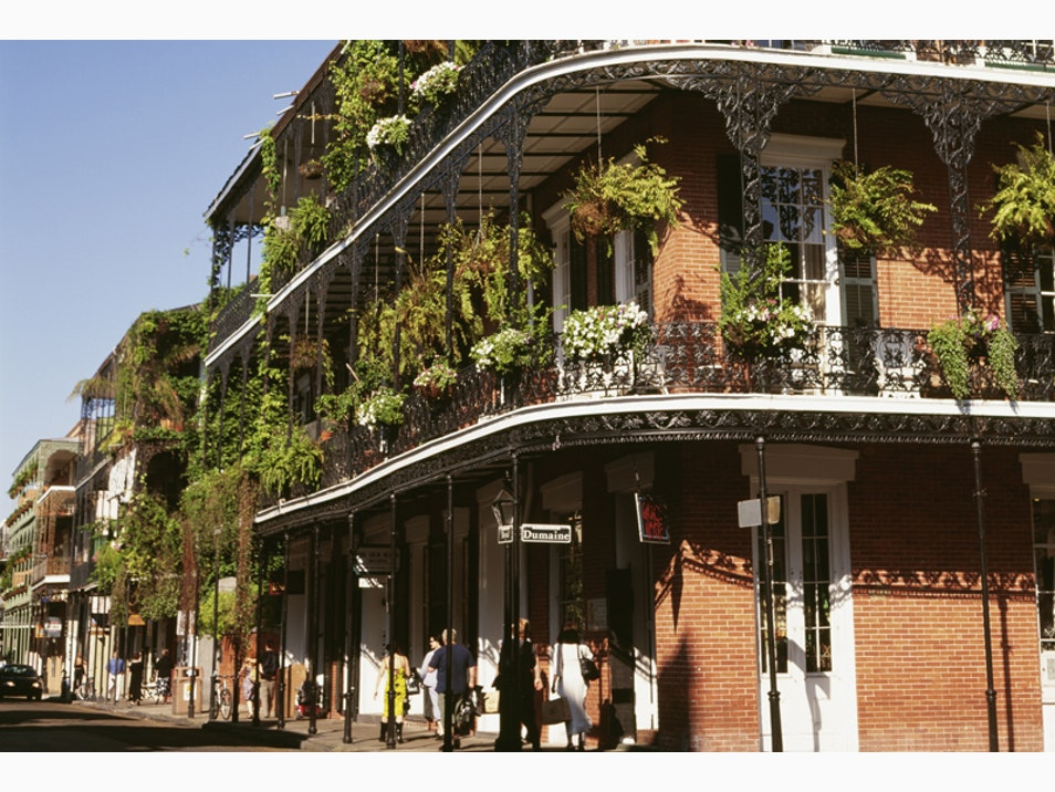 Take a Stroll in the Big Easy