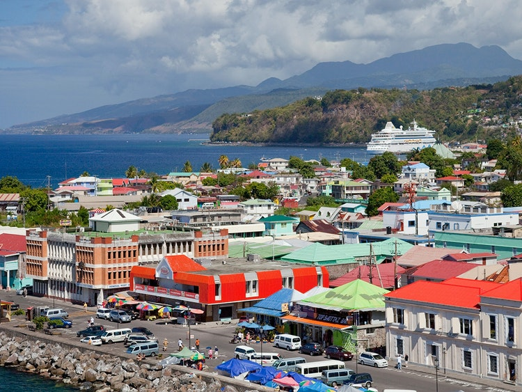 Image result for Roseau dominica