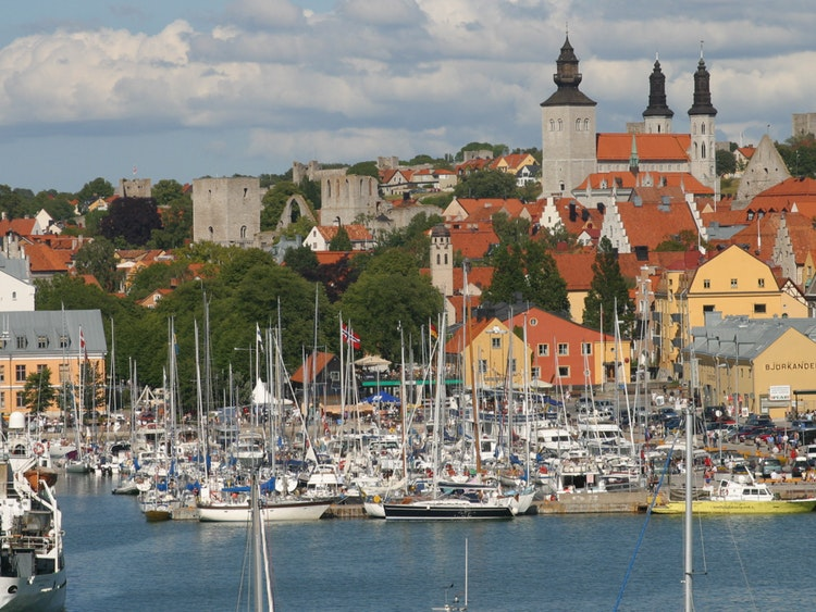 VW Settlement Canada >> Cruises to Visby, Gotland, Sweden | Holland America Line ...